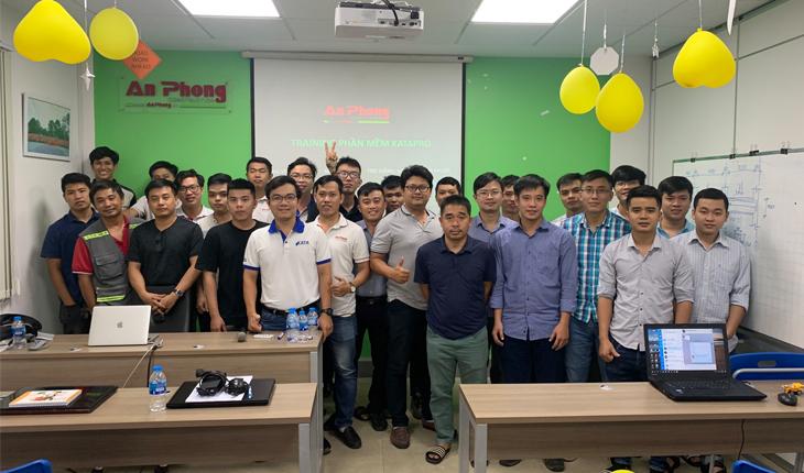 Training Kata cho phòng kỹ thuật công ty An Phong