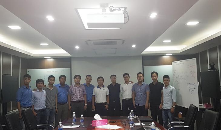 Huấn luyện Kata tại công ty Dinco Đà Nẵng