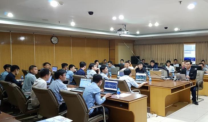 Huấn luyện phần mềm Kata tại Visicons thuộc tập đoàn Vinaconex