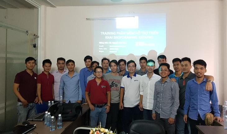 Huấn luyện Katapro tại tập đoàn xây dựng DELTA chi nhánh Miền Nam